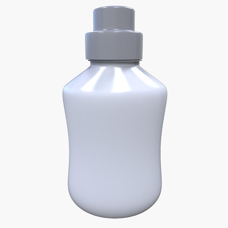 plastic bottle 3d 3ds