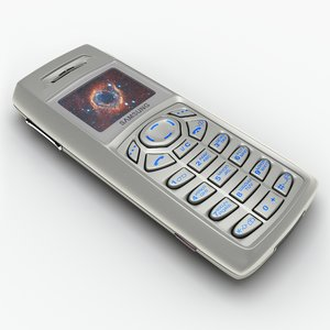 3d model mobile phone samsung