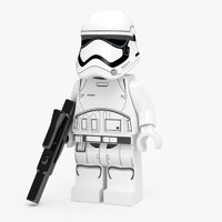 LEGO First Order Stormtrooper Figure