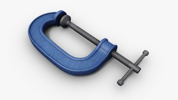 g clamp 3d model