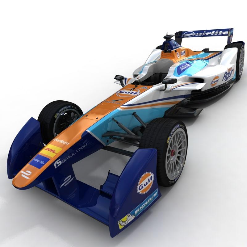 season 2 aguri formula 3d model
