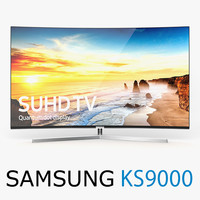 new samsung ks9000 suhd 3d model