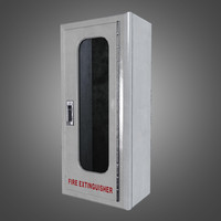 Fire Extinguisher Box - PBR Game Ready