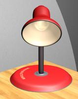 Cartoony lamp