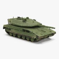Merkava Mk IV 3D Model