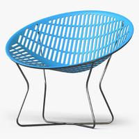 solair chair 3d model