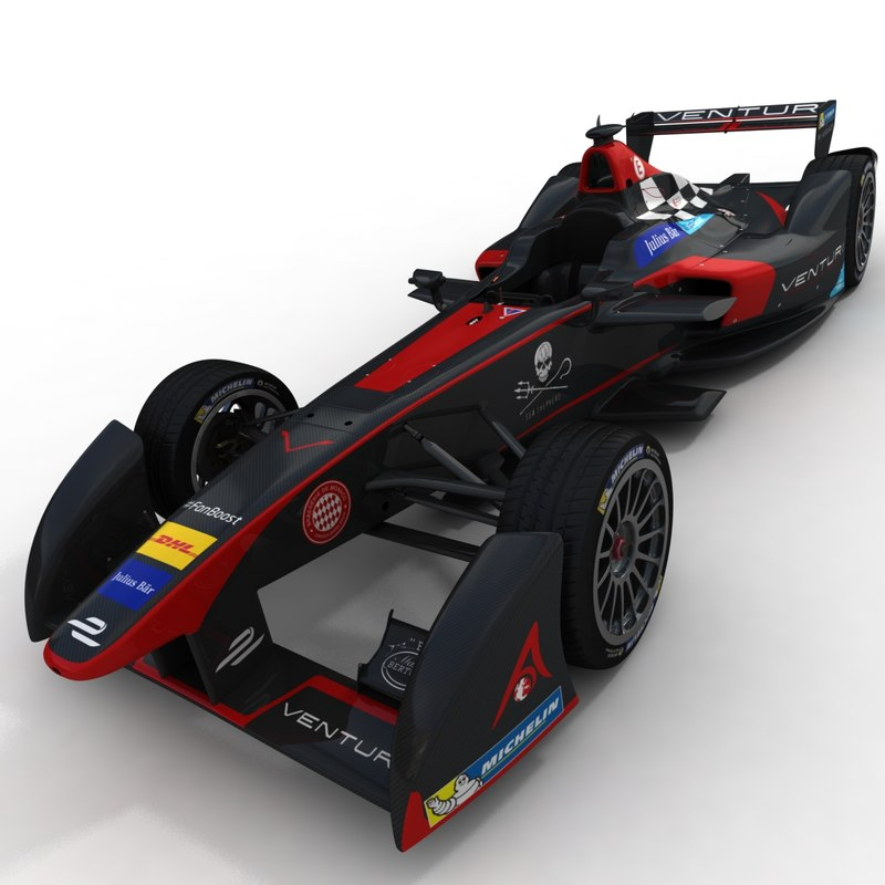 season 2 venturi formula 3d model