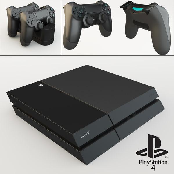 3d sony playstation 4