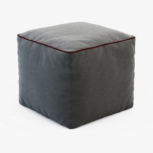 3d model pouf 60