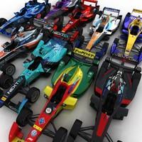3d model season 2 formula e