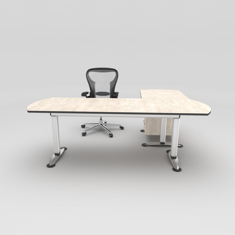 3d model modern office chair