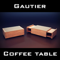 max gautier manhattan coffee table