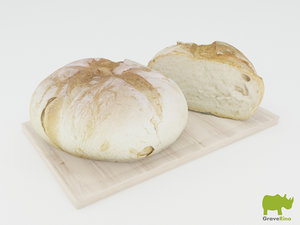breads resolution 3d model