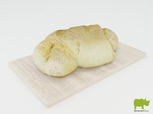 3d bread resolution model