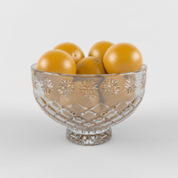 Crystal Bowl for fruits