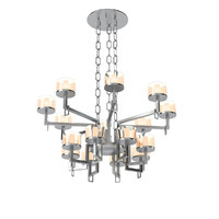 3d model rivolta cups chandelier