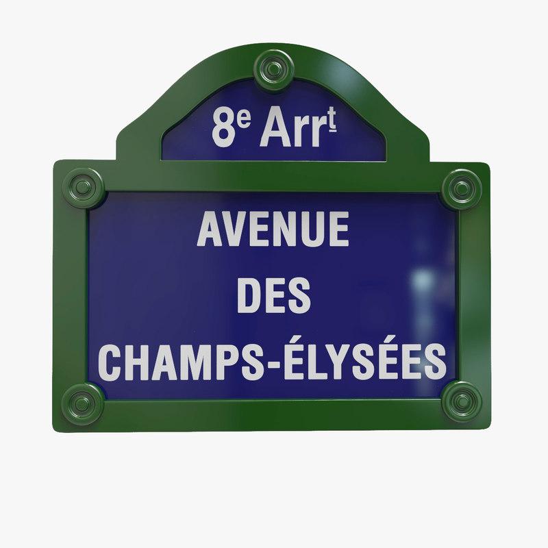 paris district panel 3d max