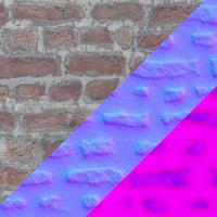PBR bricks texture