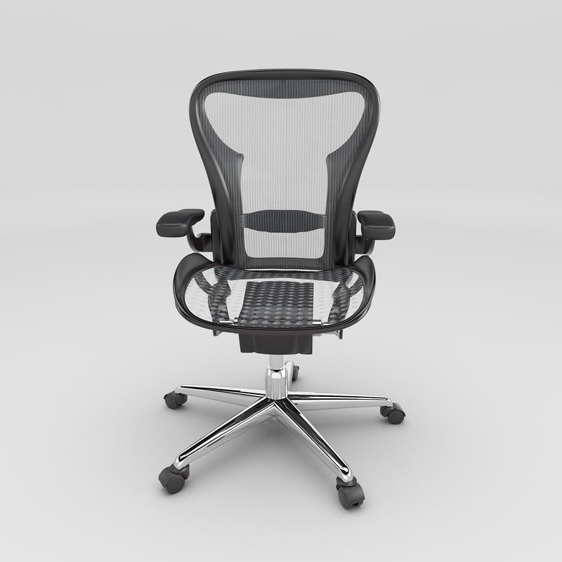 arm chair obj