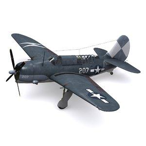 3d helldiver bomber model