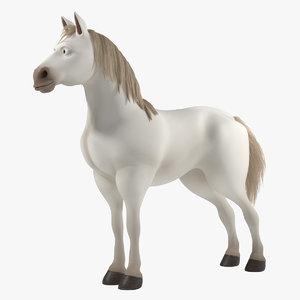 3d horse cartoon alex