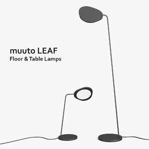 3ds muuto leaf table floor lamps