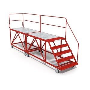 safety platform 3d obj