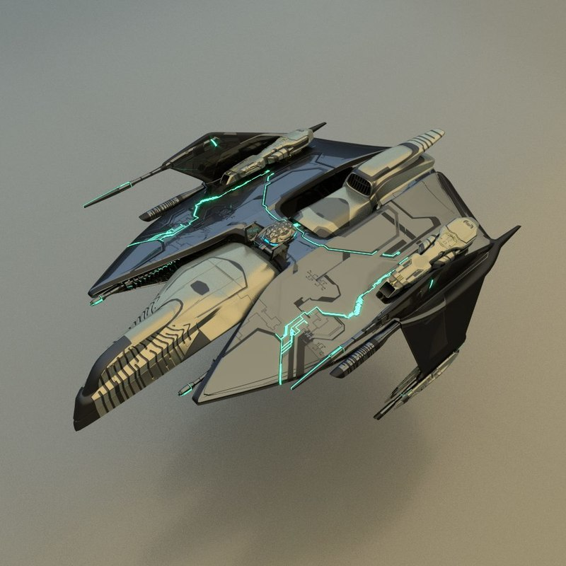3d fighter model
