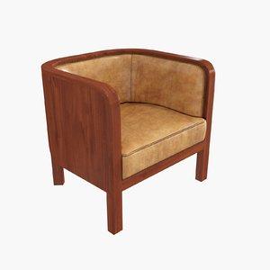 chair jacob kjaer 3d max