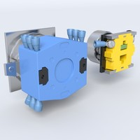 circuit breaker 3d model
