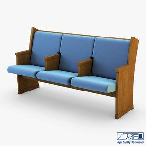 max galil chair blue