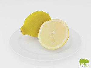 lemons resolution 3d max