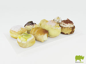 3d pastries resolution