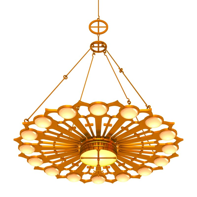 chandelier architectural obj