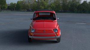1968 fiat 500l luxe 3d model