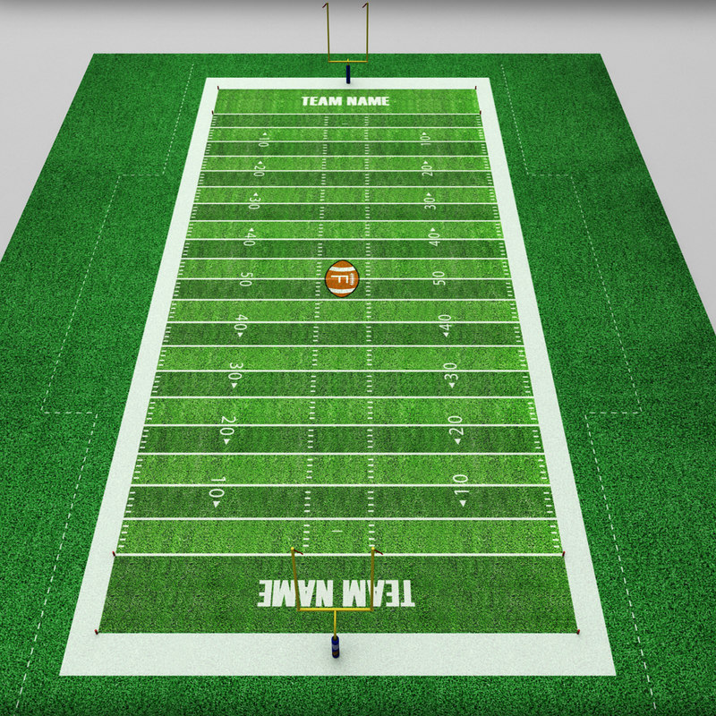 3ds football american stadium field