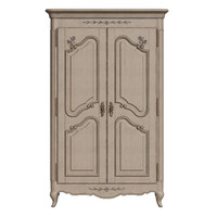 country corner two-door wardrobe 3d max