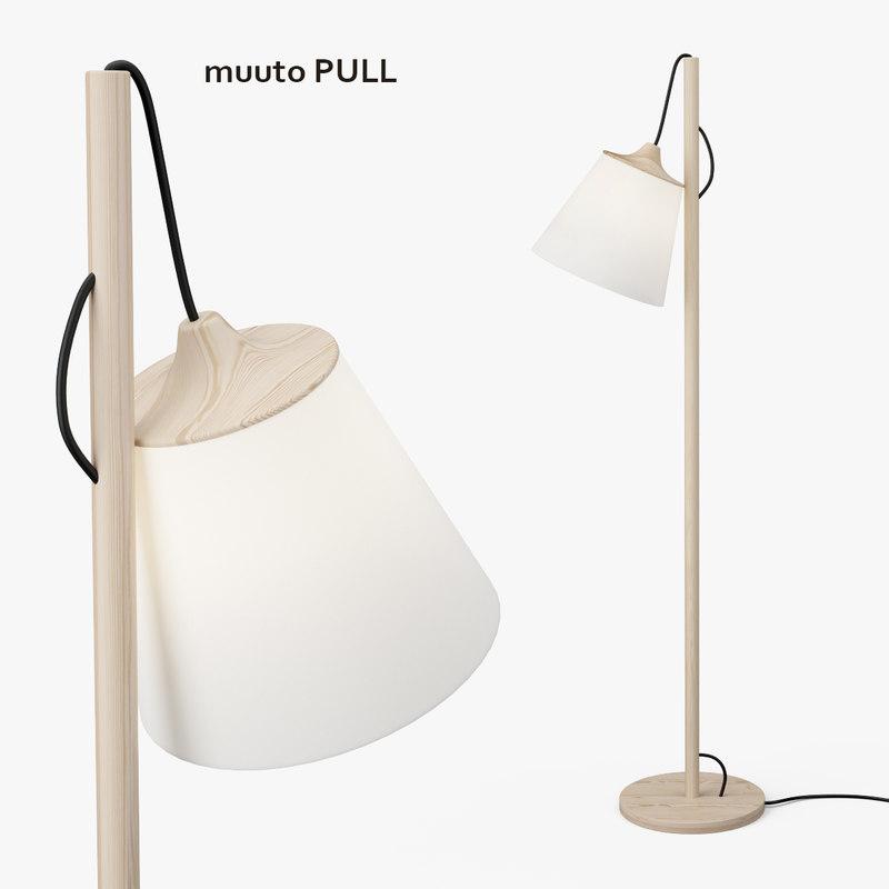 muuto pull floor lamp max