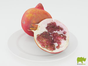 pomegranates resolution 3d 3ds