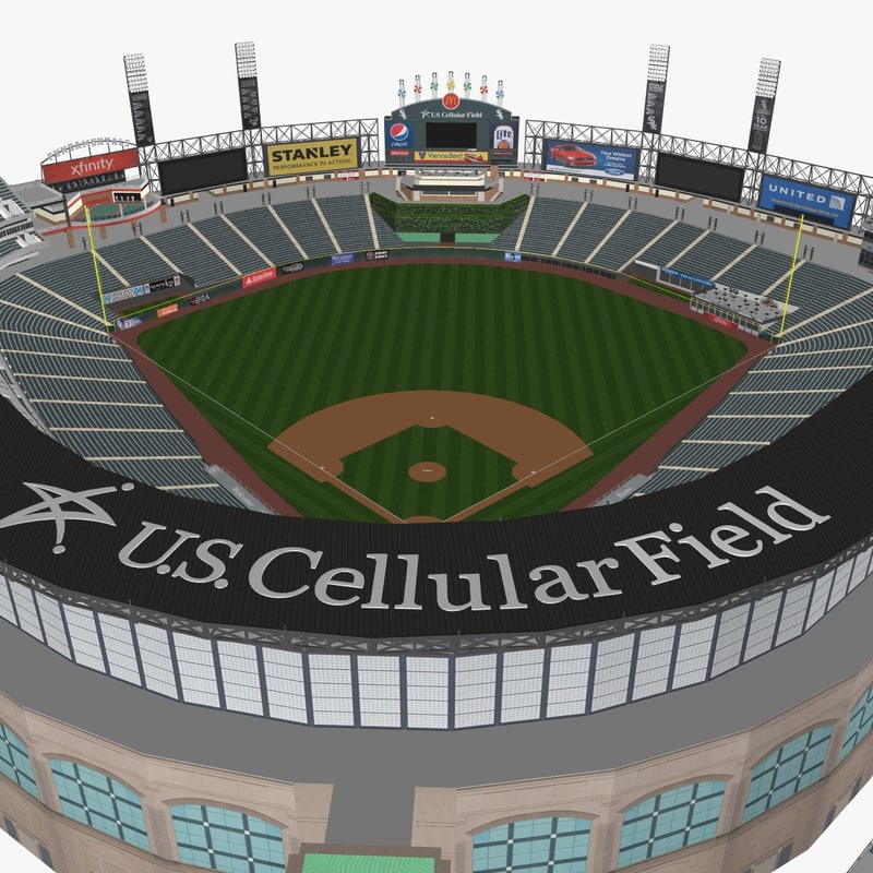 u s cellular field 3d 3ds