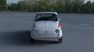1958 fiat 500 nuova obj