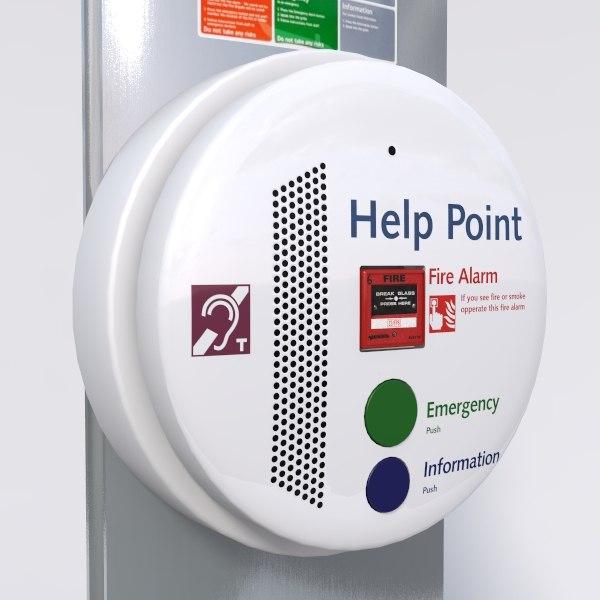 help point 3d model