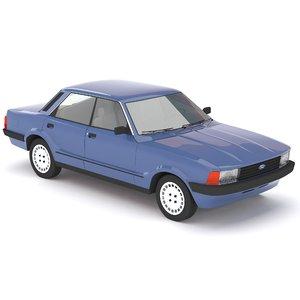3d taunus car model