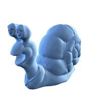 hi-poly snail sculpt 3d obj