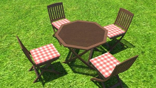 garden table set ma