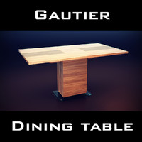 3d gautier neos table model