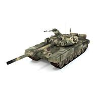 battle tank t-90 3d x