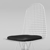 wire chair obj