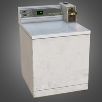 load washer - pbr 3d obj