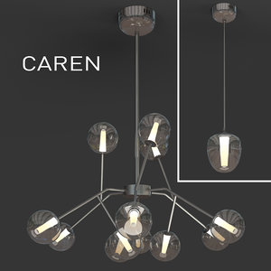indoor light caren 3d model